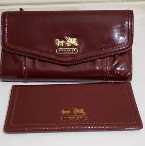Coach Wallet Set